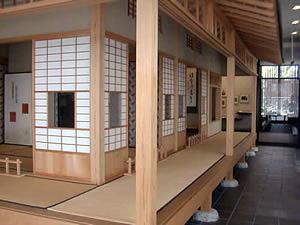 金田一京助記念室「錦木荘」コーナーの写真
