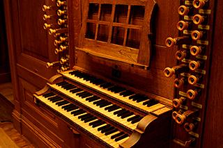 大オルガン鍵盤