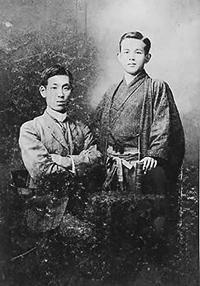 金田一京助展示資料「金田一京助と石川啄木」
